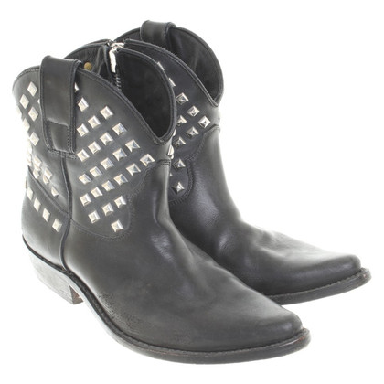 Golden Goose Boots with studs