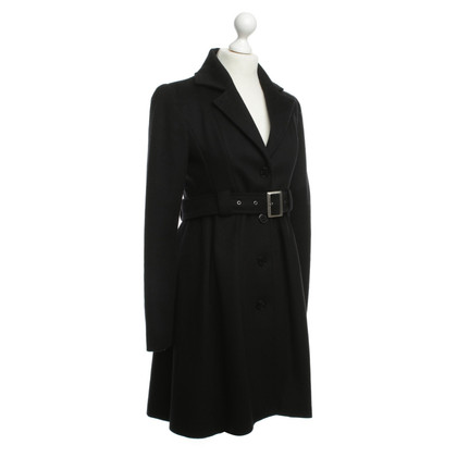 Patrizia Pepe Wool coat in black