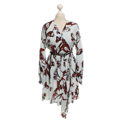 Dorothee Schumacher Wrap dress with floral print
