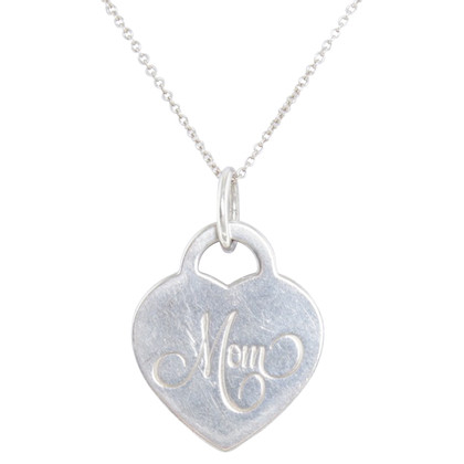 Tiffany & Co. Chain with heart pendant '' Mom ''