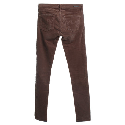 Citizens of Humanity Pantaloni di velluto a Brown