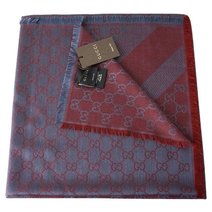 Gucci Guccissima cloth in blue / red