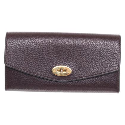 Mulberry Wallet in dark brown