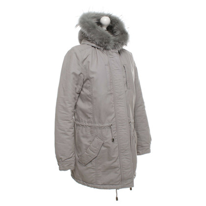 IQ Berlin Parka with fur collar