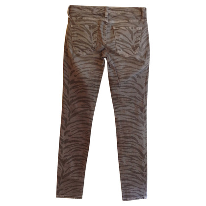 Current Elliott Jeans with animal print