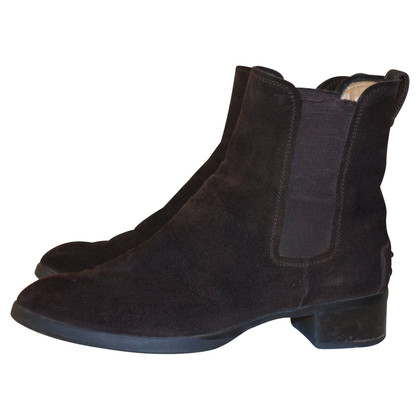 Tod's Chelsea boots in pelle scamosciata