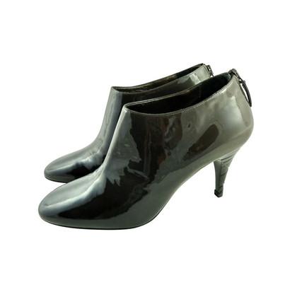 Burberry Ankle-Boots mit Check-geprägtem Absatz