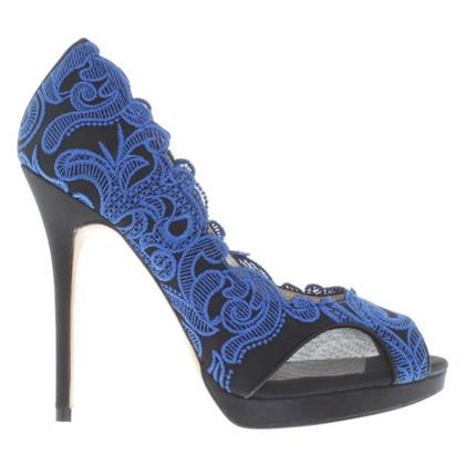 Karen Millen Peep toes with lace