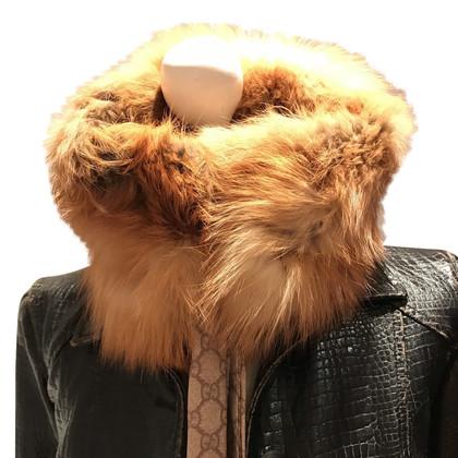 Gucci Collar made of fox fur