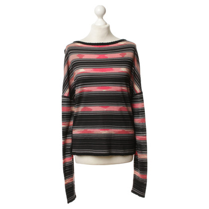 Missoni Fine knit sweater with stripes