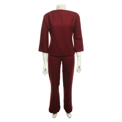 Patrizia Pepe Suit in red / black
