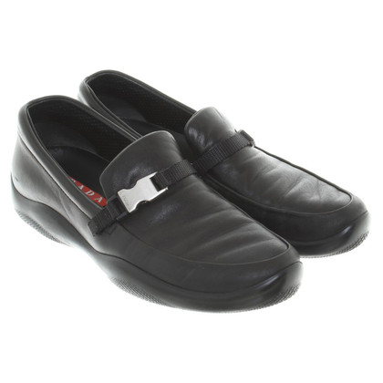 Prada Pantofola in Black