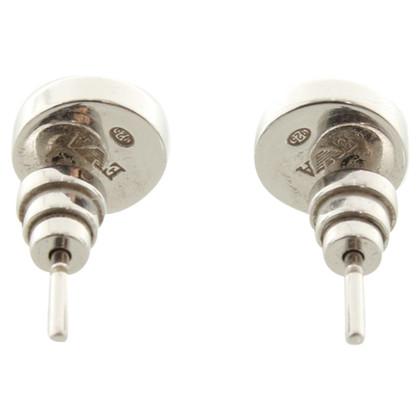 Armani Silver earrings
