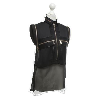 Givenchy Senza maniche Top con dettagli