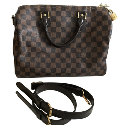 "Louis Vuitton ""Speedy 30 Damier Ebene Canvas"""