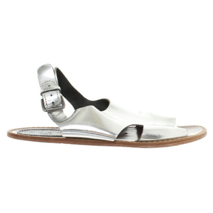 Marni for H&M Sandalen in Metallicfarben
