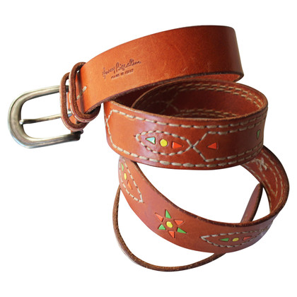 Henry Beguelin leather belt