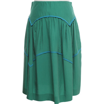Moschino skirt in green / turquoise blue