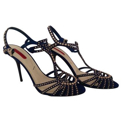 Cesare Paciotti Suede sandals