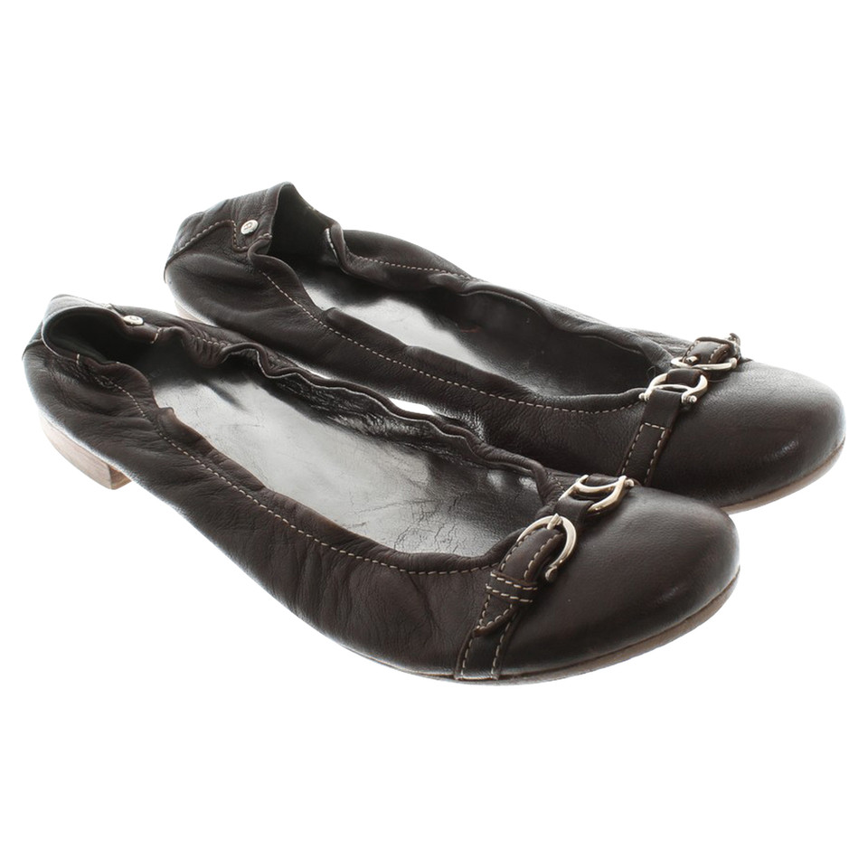 Aigner Ballerinas in brown