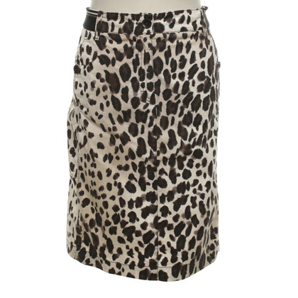 Marc Cain skirt with leopard pattern