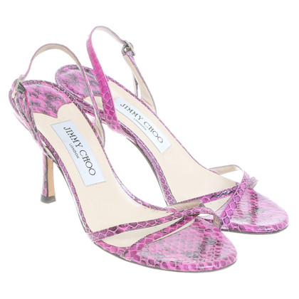 Jimmy Choo Sandaletten in Pink