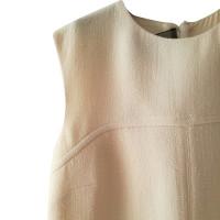 Giambattista Valli Ärmelloses Kleid in Creme
