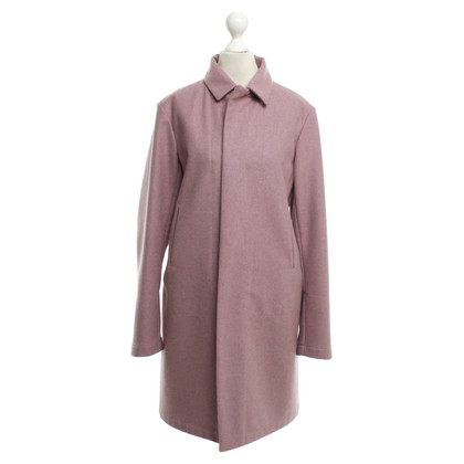 Jil Sander Coat in blush pink