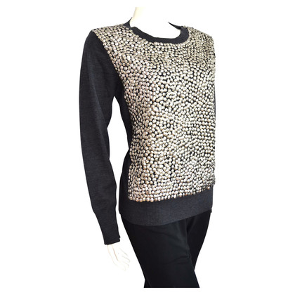 Laurèl Wool Sweater with sequins
