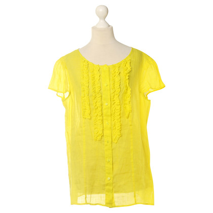 Luisa Cerano Blouse in yellow
