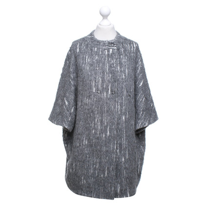 Bruno Manetti Coat in grey / cream