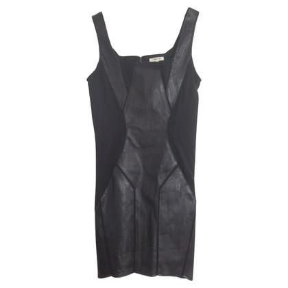 Helmut Lang Mini Leather Dress