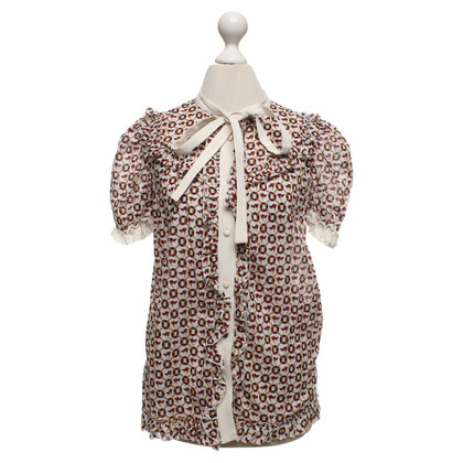 D&G Short sleeve blouse with pattern