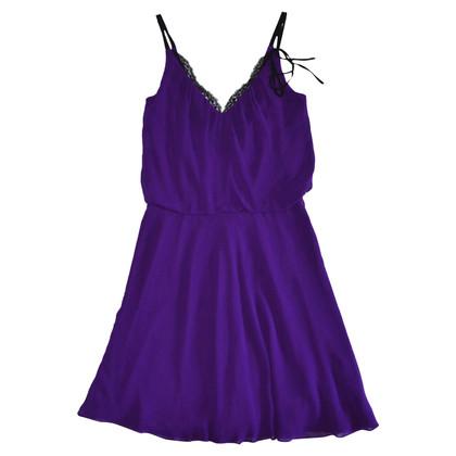 Karen Millen Silk Purple Dress