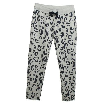 Juvia Pantalon à imprimé animal