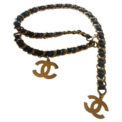 Chanel Chanel Vintage Logo Belt