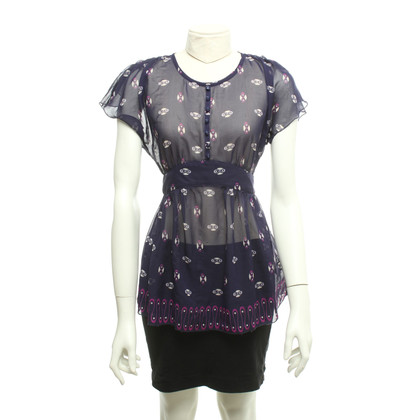 Anna Sui Top Cap Sleeve