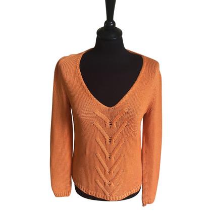 Malo Pullover aus Baumwolle
