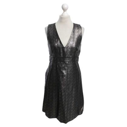 Michael Kors Kleid mit silberfarbenen Muster