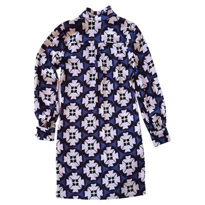 Diane von Furstenberg geometrische zijden jurk