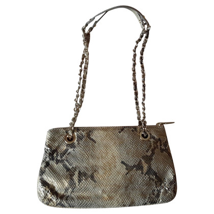 DKNY Shoulder bag with reptile embossing