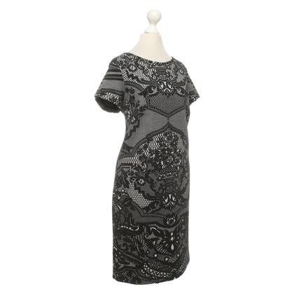 Piu & Piu Knit dress with jacquard pattern