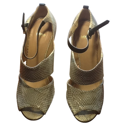 Hugo Boss Sandals in reptile look