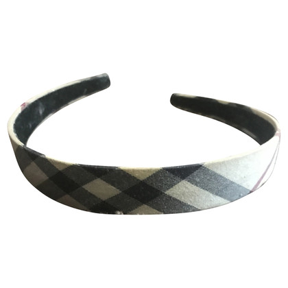 Burberry Hair hoop with Nova check pattern