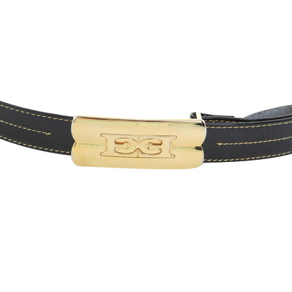 Escada Belt in dark blue