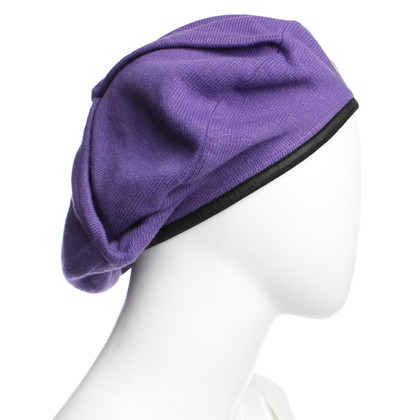 Pinko Baskenmütze in Violett