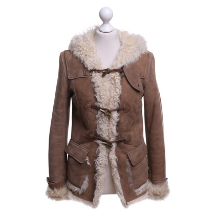 Closed Leather jacket in light brown