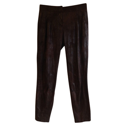 St. Emile trousers in leather optic