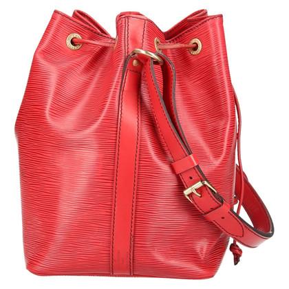 Louis Vuitton Petit Noé Epi Leather Red