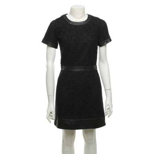 Other Designer Sea New York Lace Dress In Black